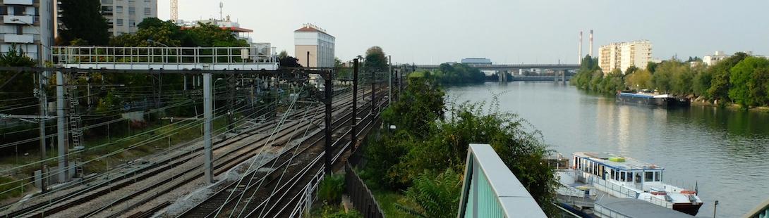 Les bords de Seine à Choisy-le-Roi